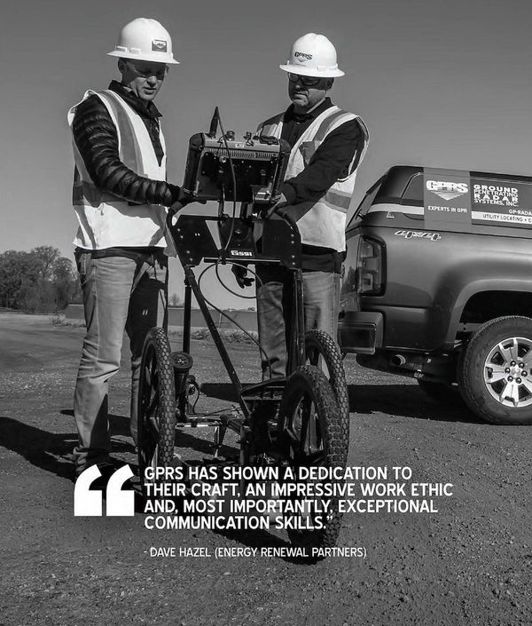 Ground Penetrating Radar Radiodetection Utility Locating Testimonial