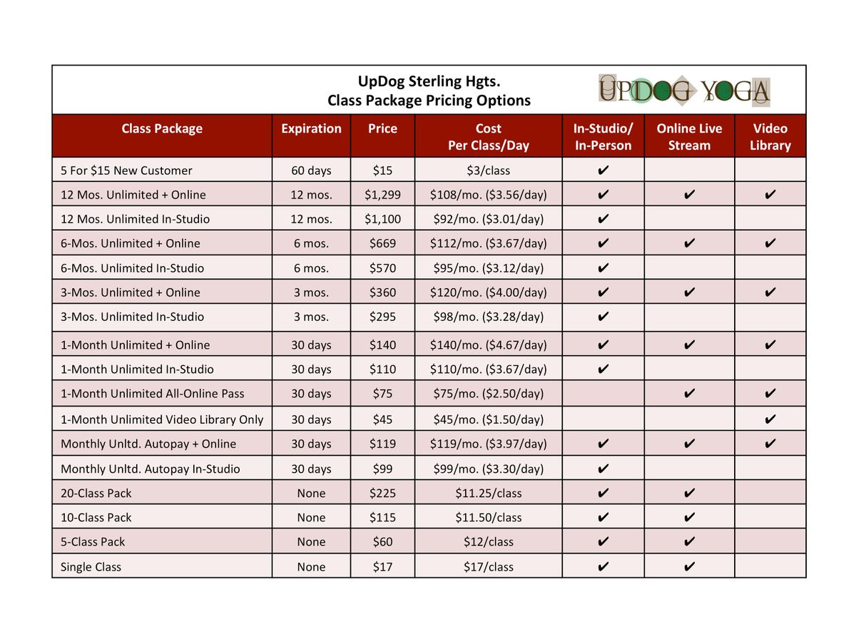 Yoga Class Pricing Options Table_UpDog SH_112420.jpg