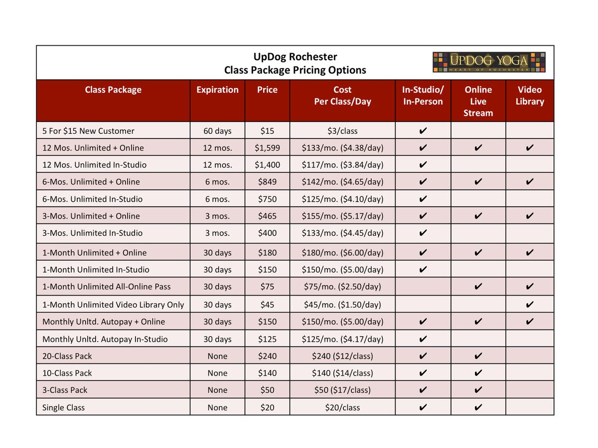 Yoga Class Pricing Options Table_UpDog Roch_112520.jpg
