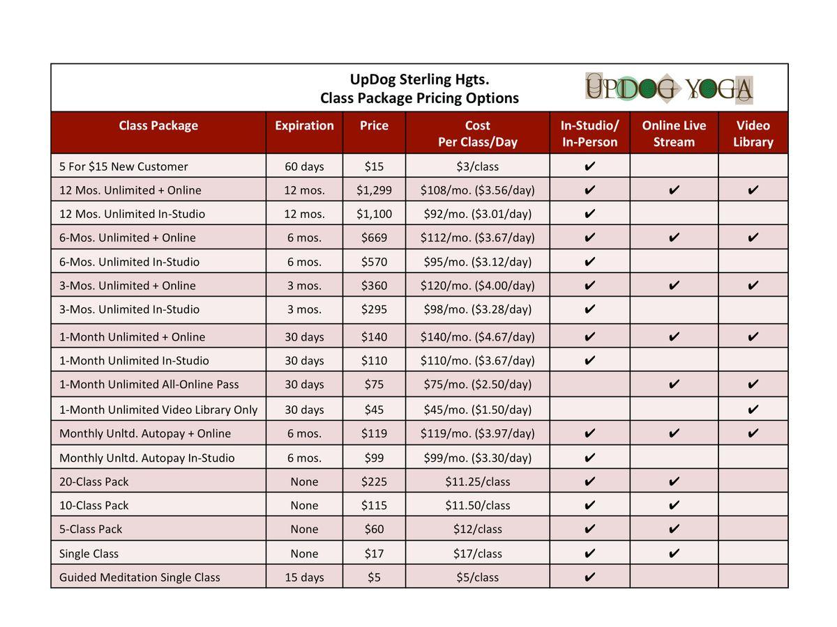 Yoga Class Pricing Options Table_UpDog SH_040221.jpg