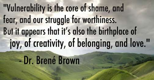 RabbiJessicaMarshall.com | Dr. Brené Brown quote