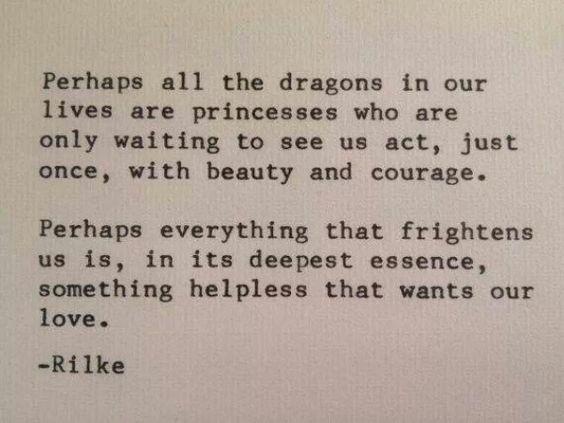 RabbiJessicaMarshall.com | Rilke quote