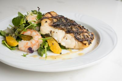 Grilled Barramundi Filet