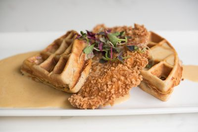 Creole Chicken & Waffles
