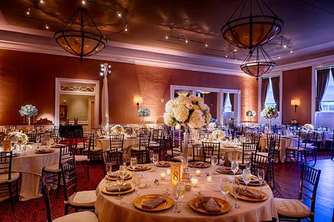 Easton wedding venue the tidewater inn gold ballroom junglespirit Images