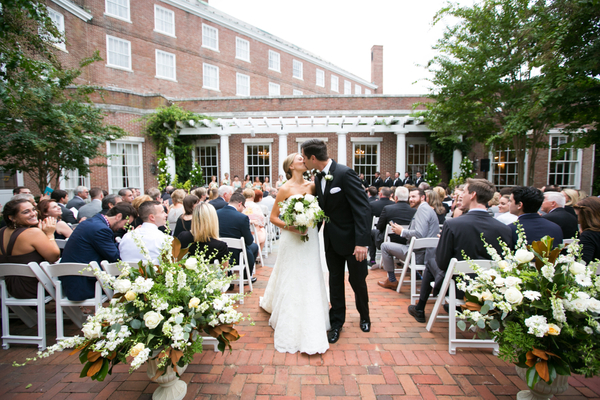 Crystal Room | Outdoor Ceremony