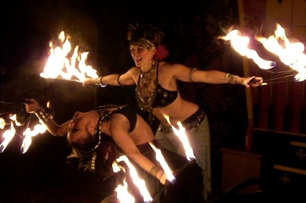 Tribal Burn Fire Show