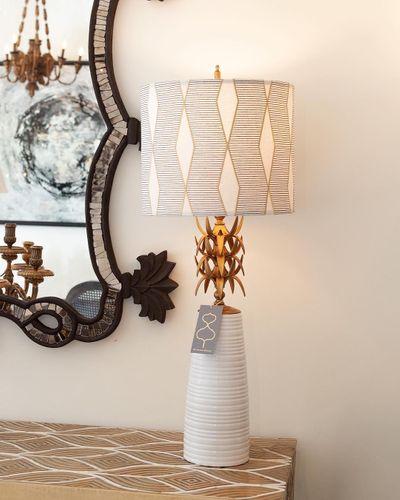 Gold Lamp Shades in San Antonio, Texas