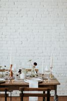 Farmhouse Tables for Wedding Receptions