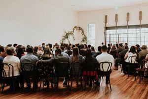 Light And Bright Wedding Ceremony