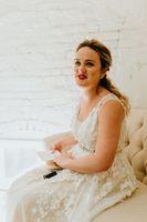 Bridal Portrait Natural Light Photo Studio