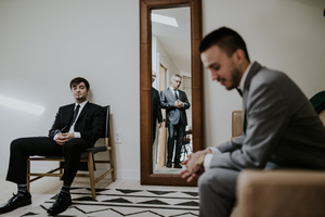 Groom Waiting Room in Wedding Venue