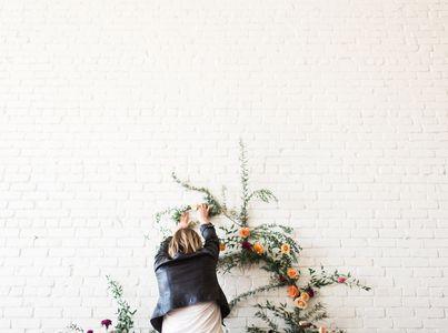 Wedding Wall Flower Vine