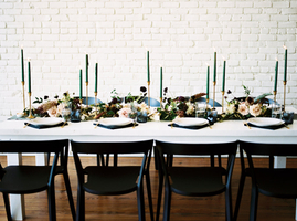 Postmodern Wedding Design and Venue