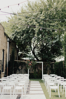Outdoor Garden Backyard Wedding Venue