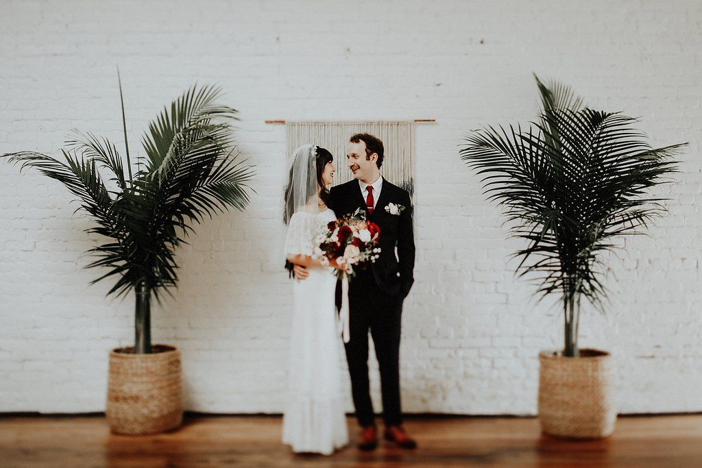 Palm Tree Wedding Decor