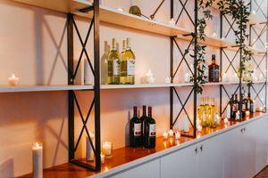 Modern Bar Wedding Decor