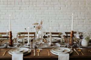 Rustic Farmhouse Wedding Reception