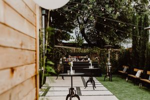 Intimate Garden Patio Event Space