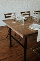 Modern Rustic Farmhouse Tables for Wedding