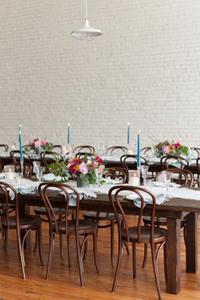 Colorful Wedding Flower Centerpieces