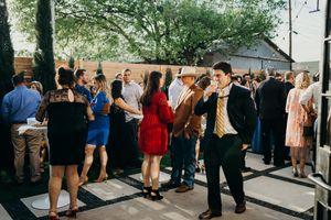 Patio Reception Central Texas