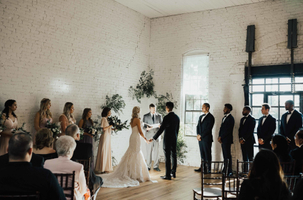 Minimalistic Wedding Ceremony