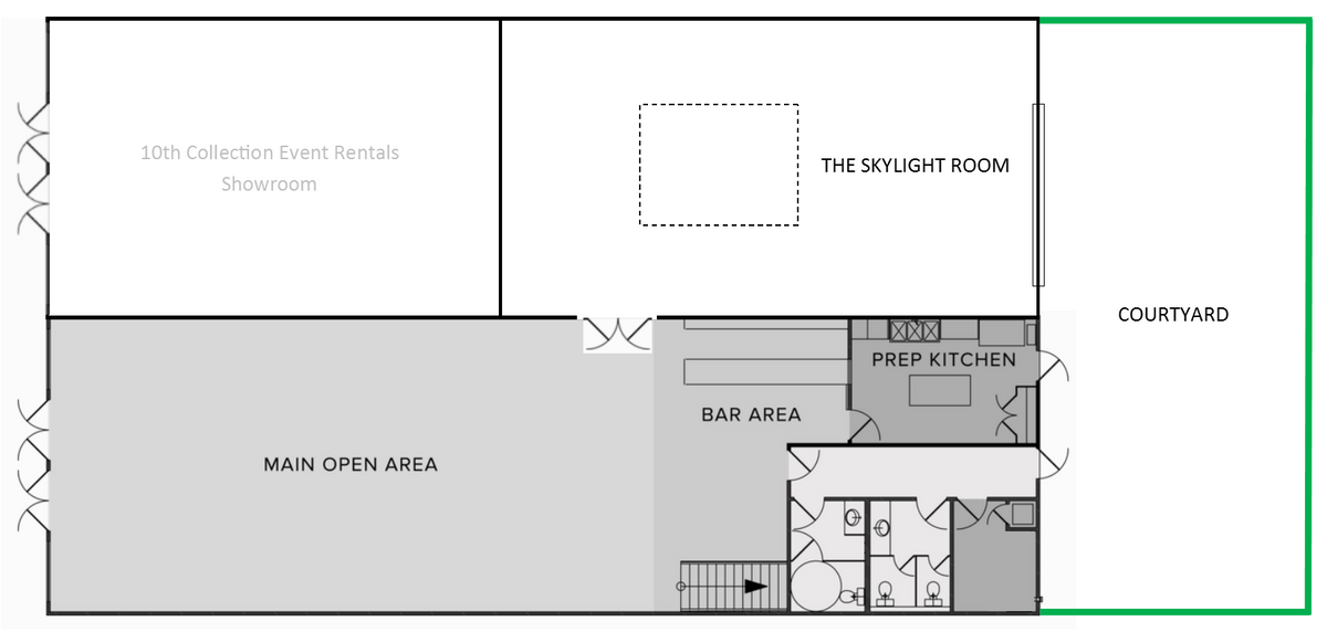 Austin Wedding Venue Floor Plan