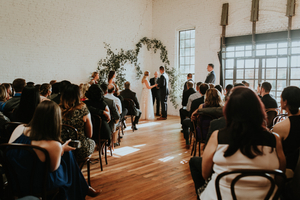 Warehouse Wedding Ceremony
