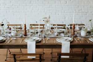 Modern Farmhouse Table for Weddings