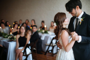 Urban Loft Wedding Reception Texas