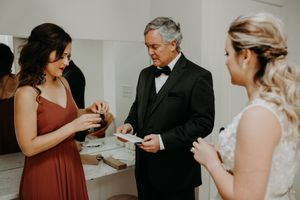 Father Of The Bride Wedding Photography