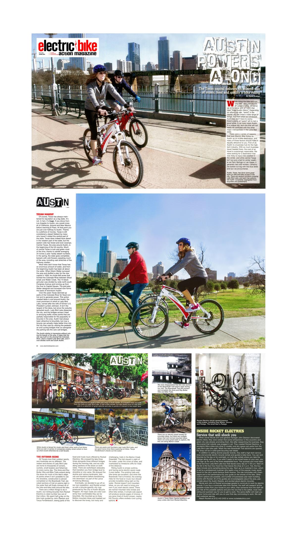 Electric Bike Magazine Rocket Electrics