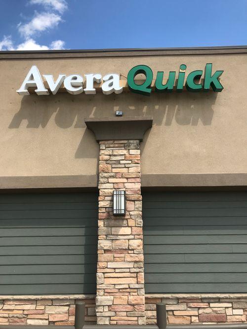 Avera Quick on the building.jpg