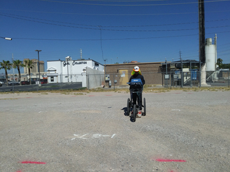 Ground Penetrating Radar Used to Investigate Outside for Utilities Prior to Digging a Trench at an Industrial Facility in Phoenix AZ.jpg