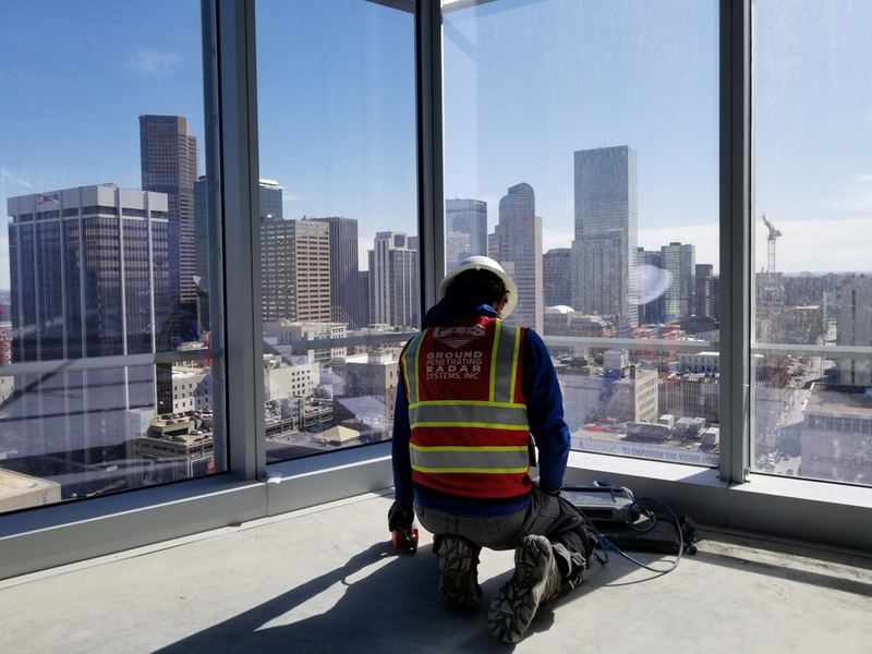Locate Reinforcement in High Rise - Downtown Denver, Co.jpg