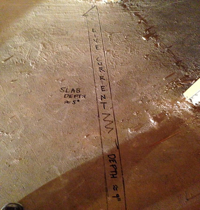 GPR_Used_To_Locate_Conduit_Under_Slab_On_Grade_Concrete_In_Lakewood_CO.jpg