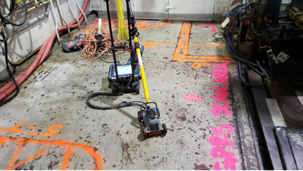 GPRS Scans Concrete in Chicago, IL