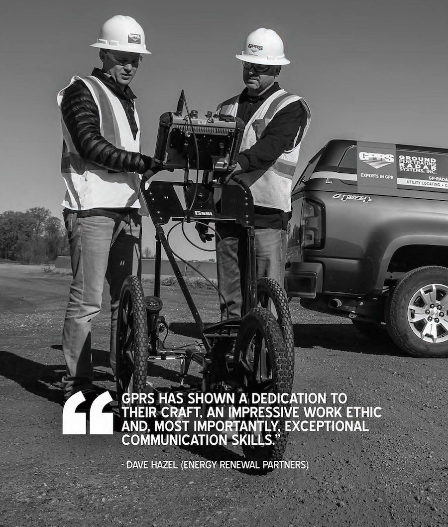 Ground Penetrating Radar Radiodetection Utility Locating Testimonial