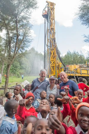 Cheptoroi- Robert and Diana and Steve Cuhn in front of drill- June 2019 (round 4) (16 of 35).jpg