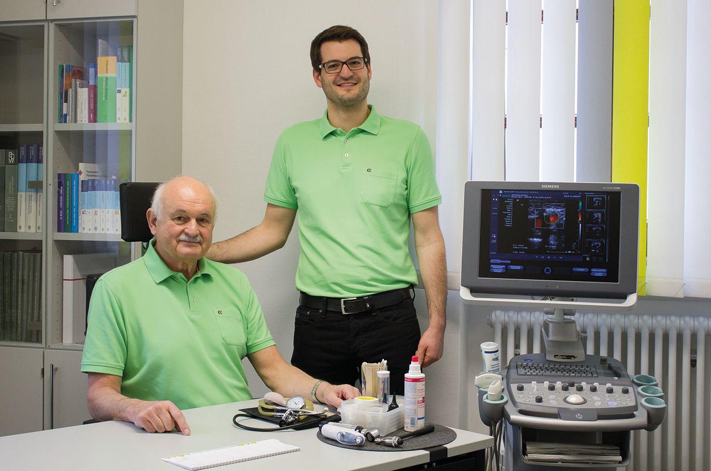Arztpraxis Möhrle Oberkochen - Albert Möhrle und Dr. Matthias Möhrle