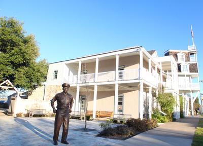 Nimitz Museum with Statue.jpg