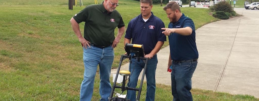 Ground Penetrating Radar Radiodetection