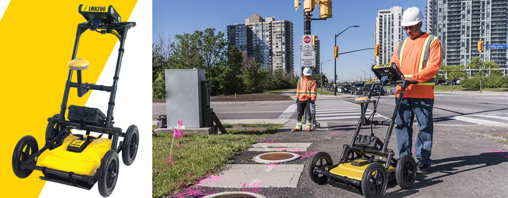 LMX200™ Ground Penetrating Radar (GPR) Utility Locating Equipment