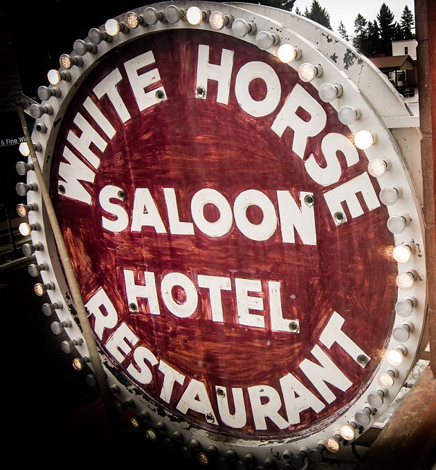 White Horse Saloon, Hotel & Cafe