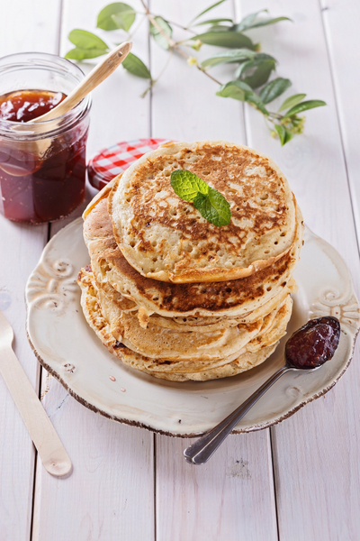 Banana Buttermilk Pancakes by yvoneisenstein.jpg