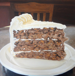 Kaci Beeler - Carrot Cake from the Upper Crust Bakery