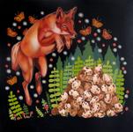 Stephanie Chambers - Jumping Fox - Look Where You Leap or You'll Break My Eggs