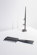 Christina Coleman - Variation on the Styler Comb #1 & Variation on the Rat Tail Comb #1