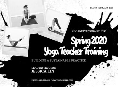 Updated Spring Teacher Training Schedule